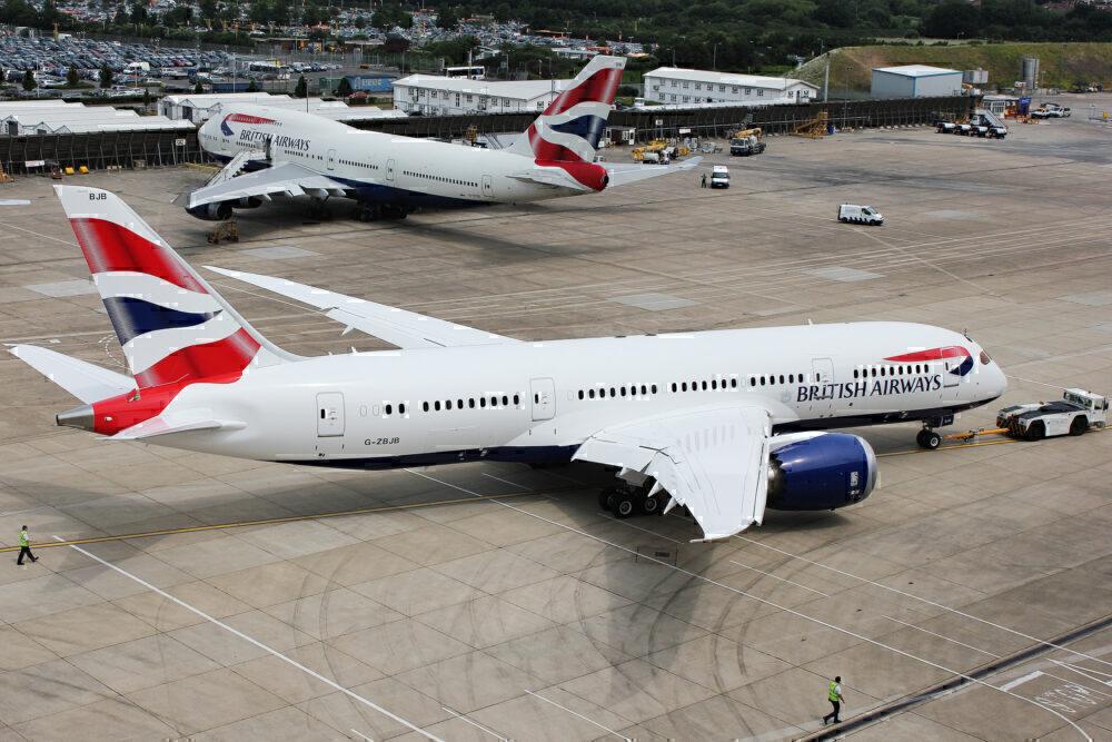 British Airways 787 -8