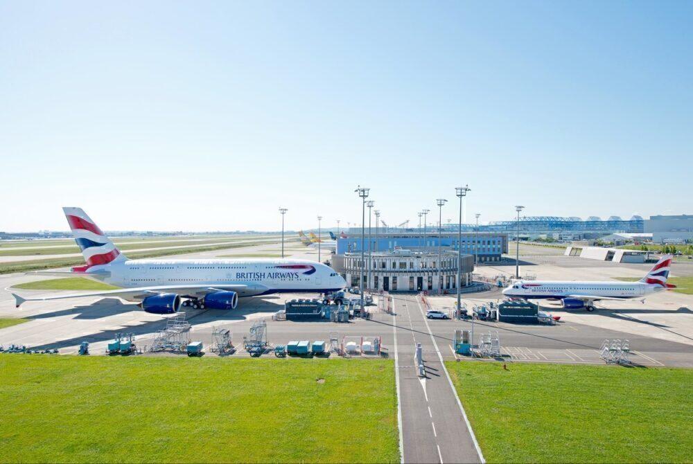 British Airways Airbus A320 & A380