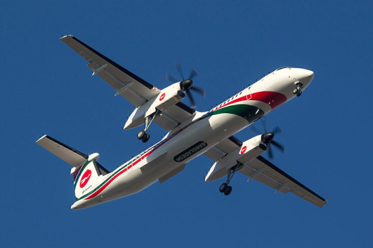 De Havilland Canada Biman Dash 8-400