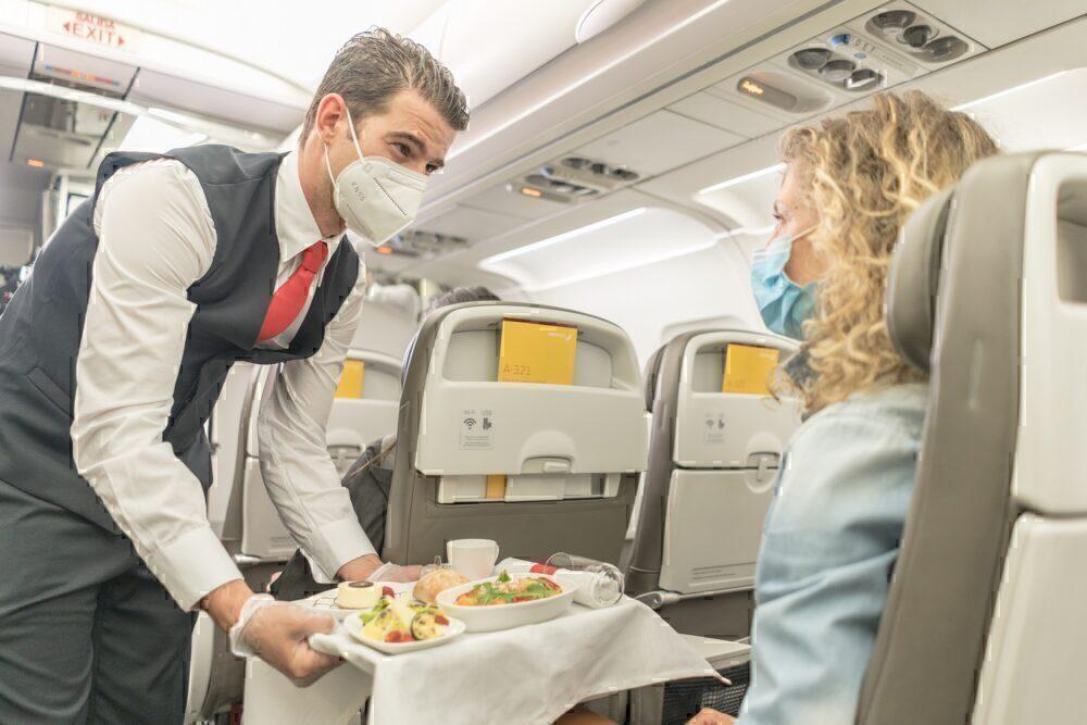 Iberia in-flight service