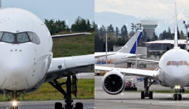 787 A350