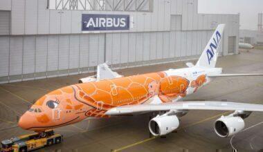 Orange ANA A380
