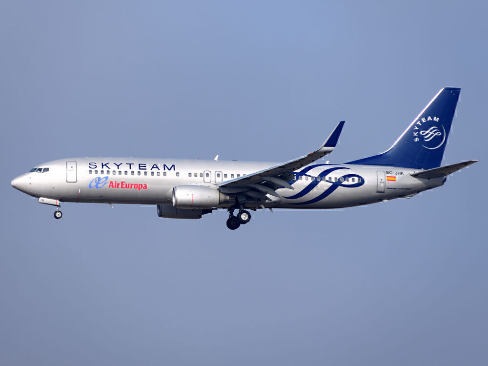 Air Europa 737 Skyteam