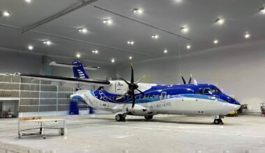 Air Saint-Pierre ATR New Livery