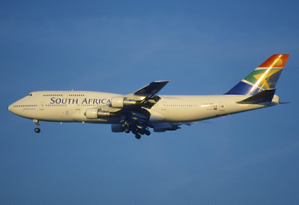 South African 747