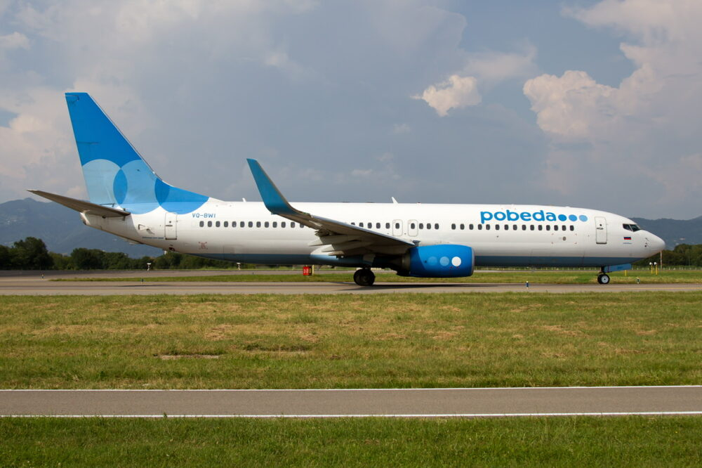 Pobeda Boeing 737 Getty