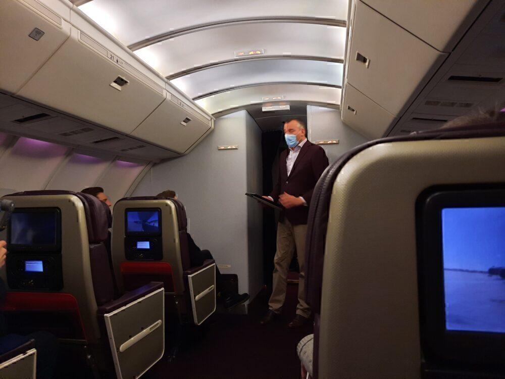 Corneel Koster Virgin Atlantic 747 Farewell
