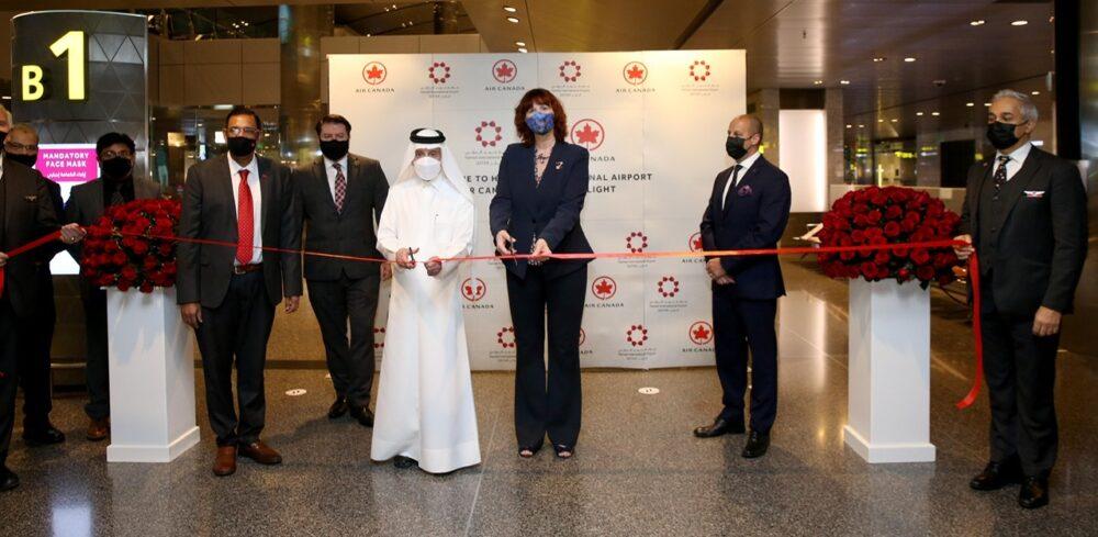 Air Canada Doha Ceremony