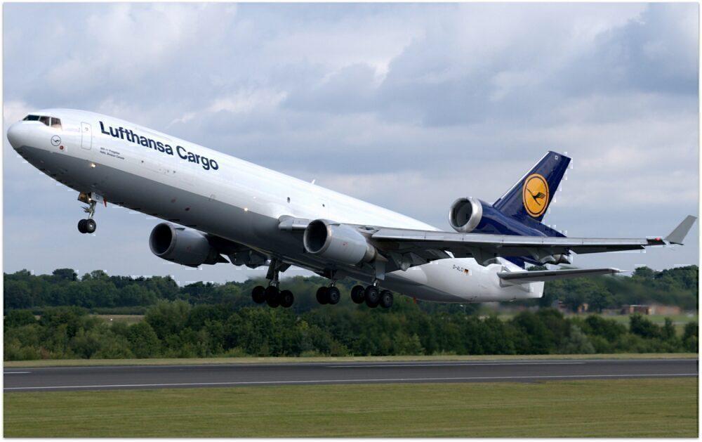 Lufthansa Cargo MD-11