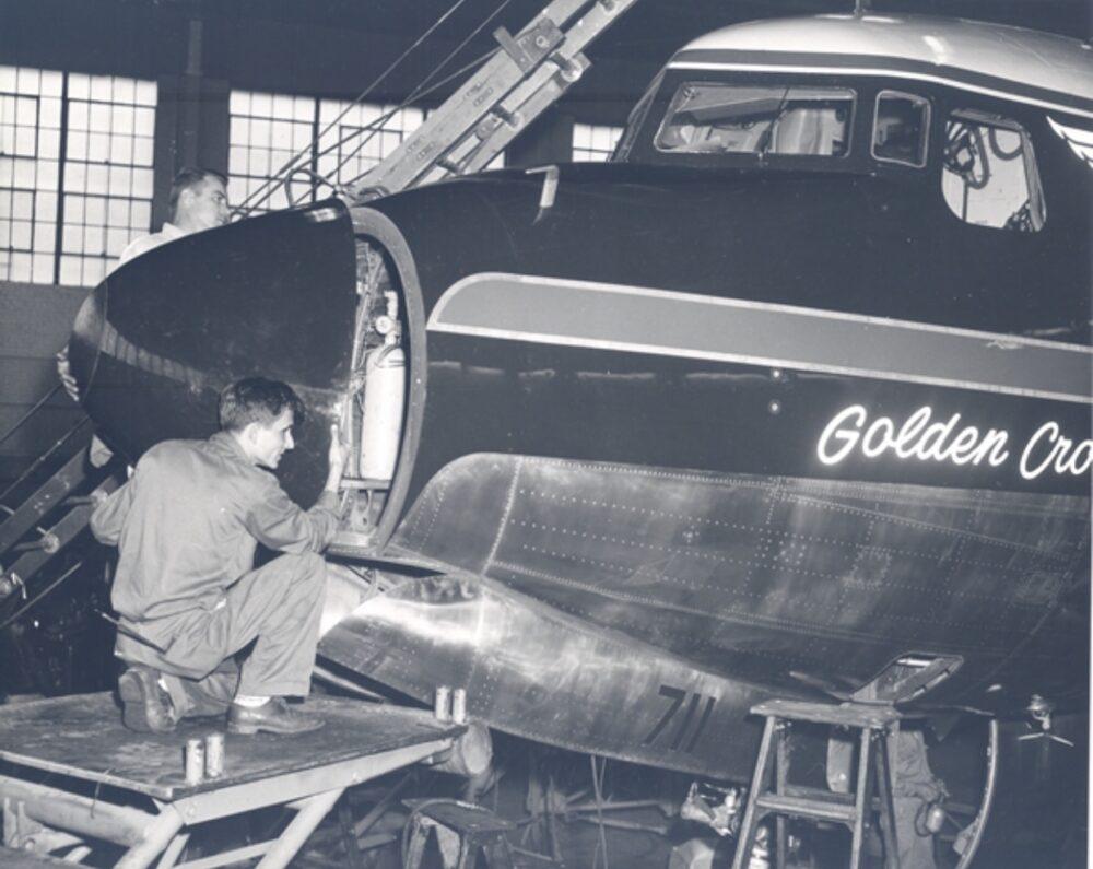 Delta Douglas DC-7