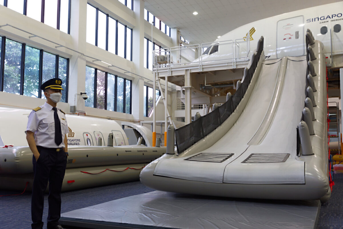 An Exclusive Look INSIDE Singapore Airlines Training Facilities