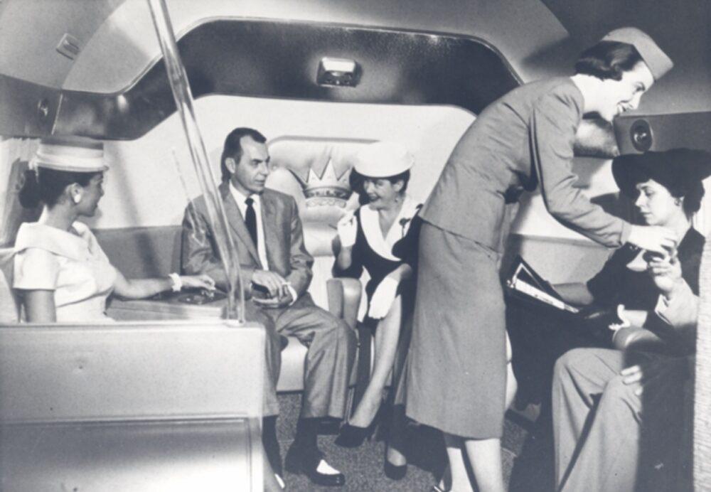 DC-7 Cabin