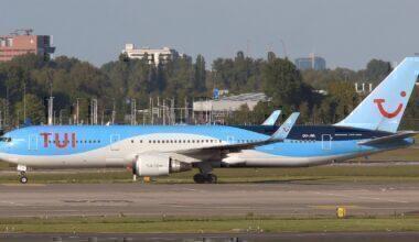 TUI Belgium Boeing 767 Amsterdam