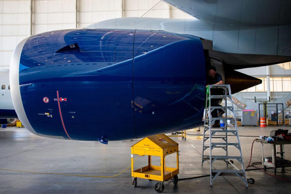 Delta A330neo engine