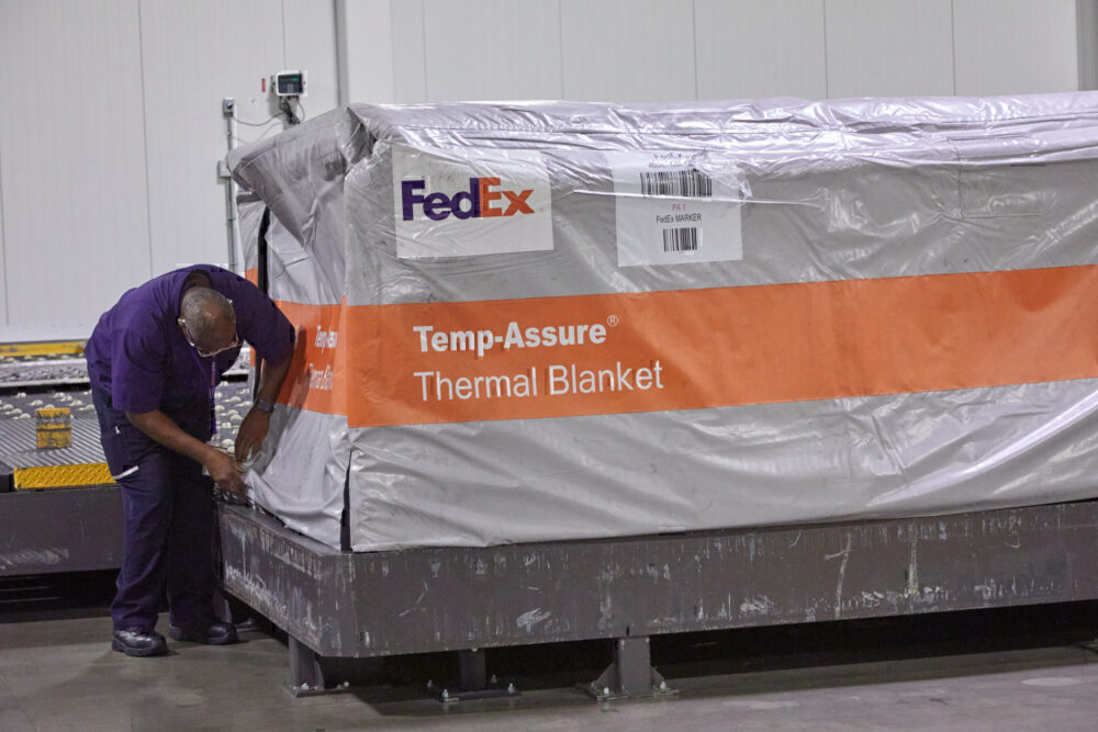 Temperature-controlled shipping