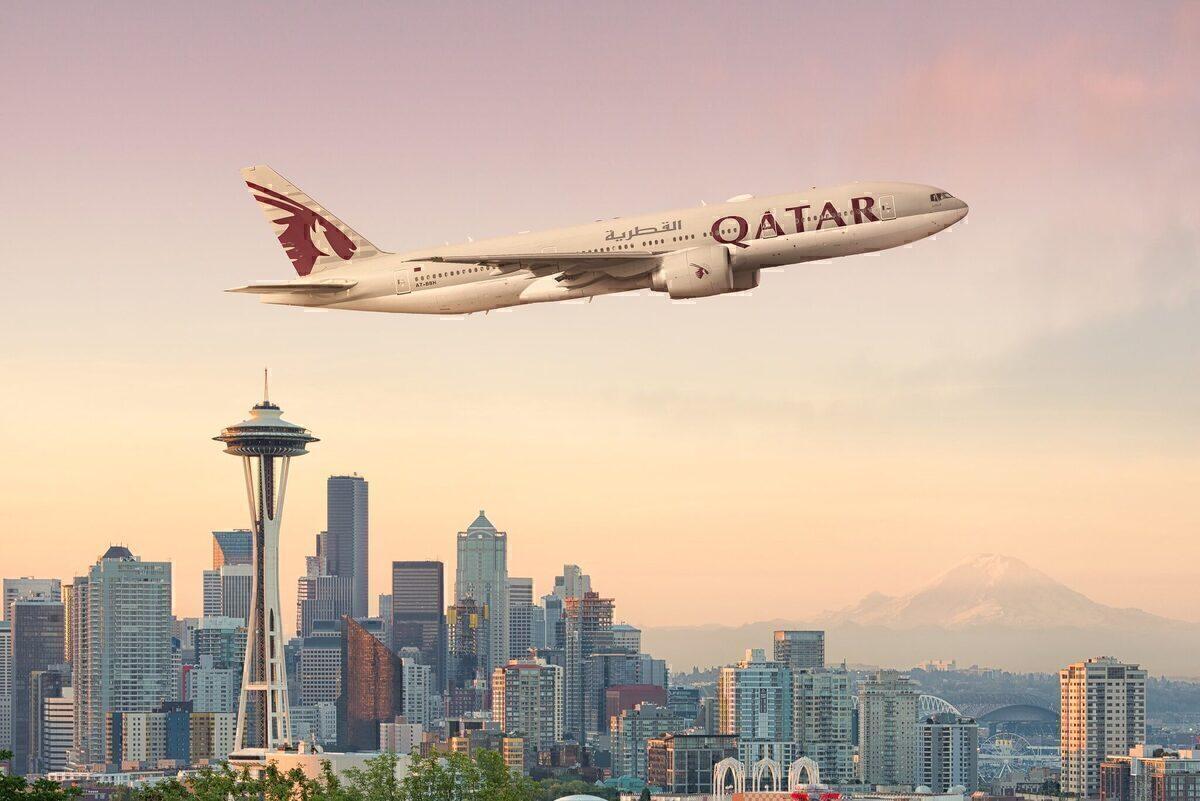 Qatar Airways, Alaska Airlines, Seattle