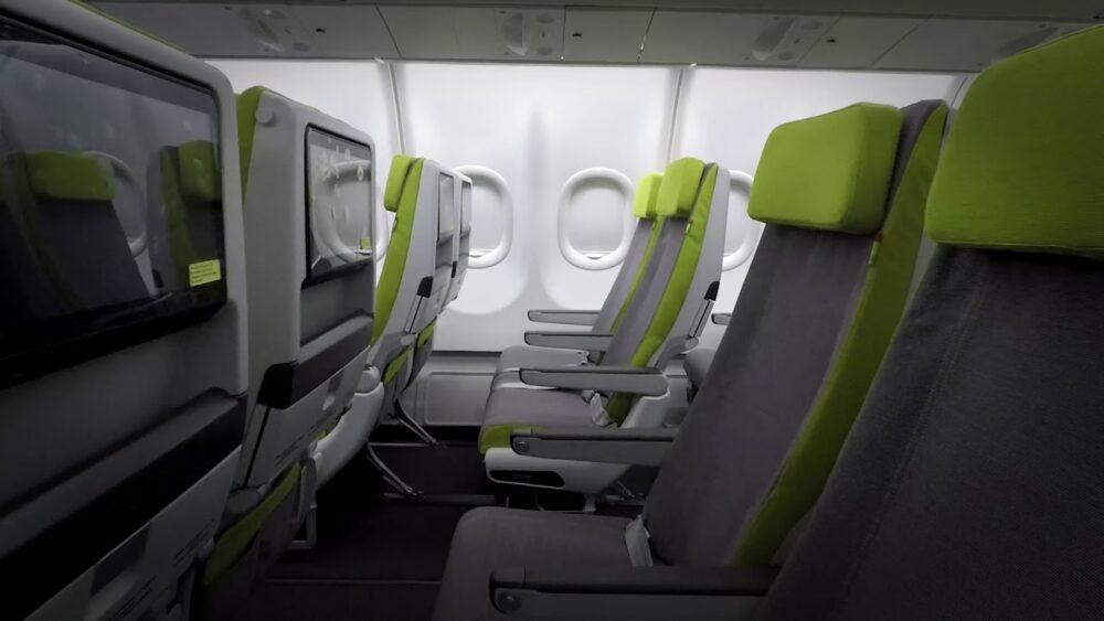 TAP A330neo Interior