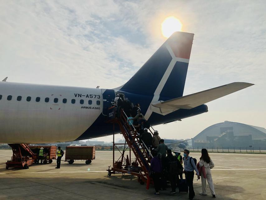 Here Is How Vietnam's Pacific Airlines Celebrated Christmas Inflight