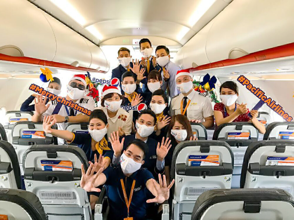 Pacific Airlines Christmas