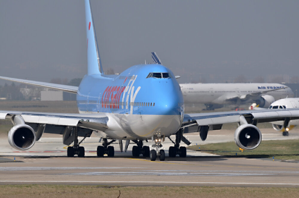Corsair Boeing 747 TUI Livery