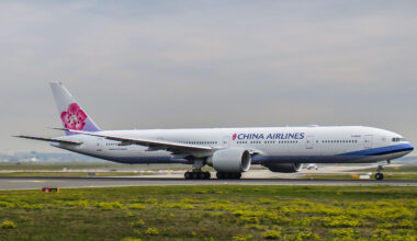 China Airlines 777