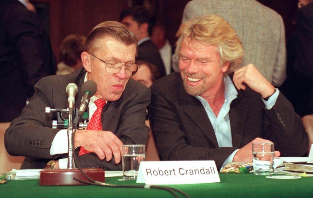 Robert Crandall and Richard Branson