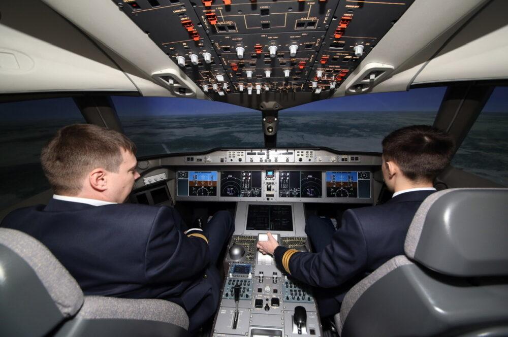 Aeroflot Pilot Crew