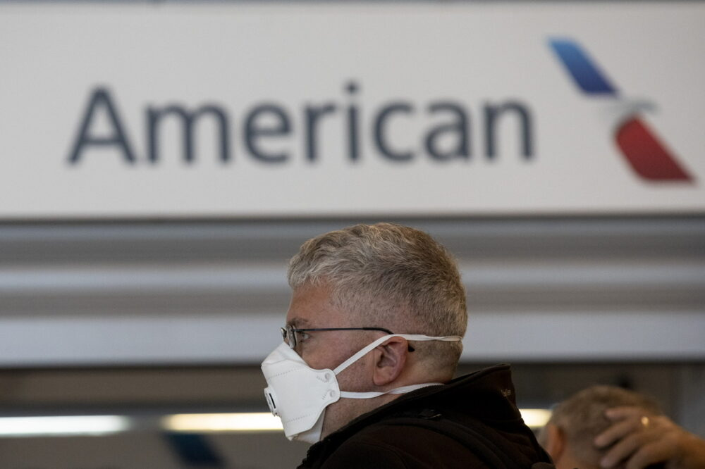 American Airlines Mask