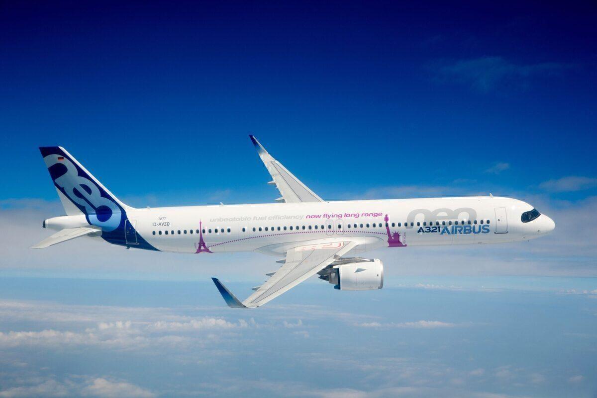 Titan Airways, A321LR, Airbus