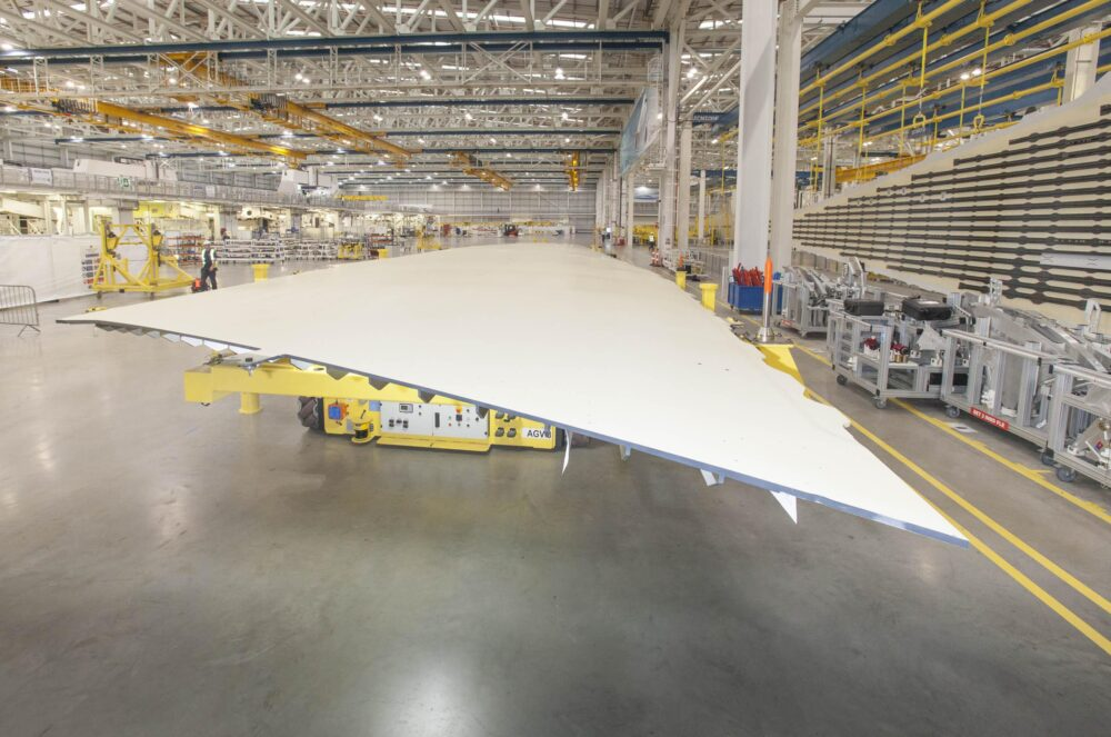 Airbus A350 wing
