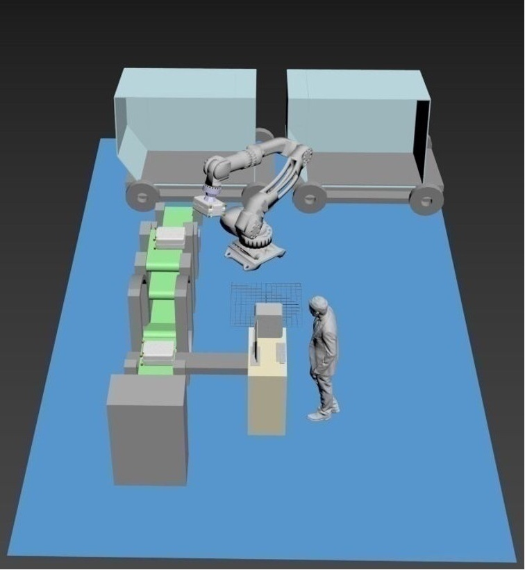 Krasnodar International Airport Robotics