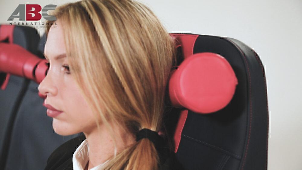 Boom Headrest