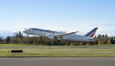 Air France First 787-9