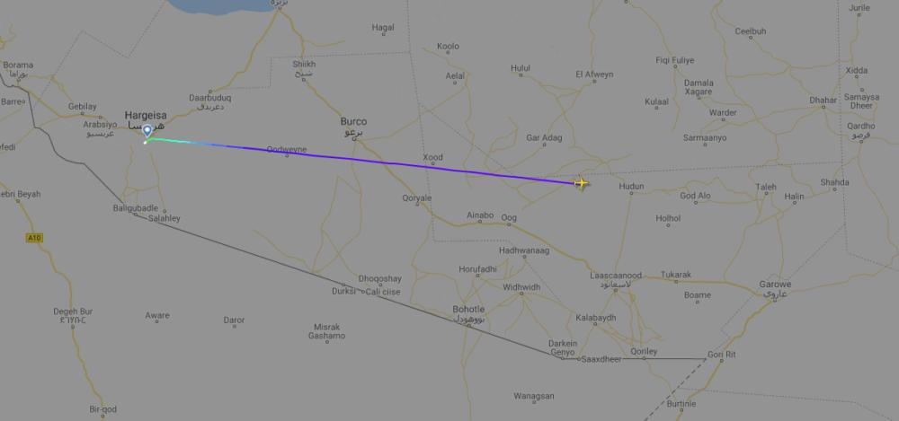 Air Djibouti, Boeing 737, Cardiff Aviation
