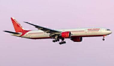 Air India Boeing 777-337