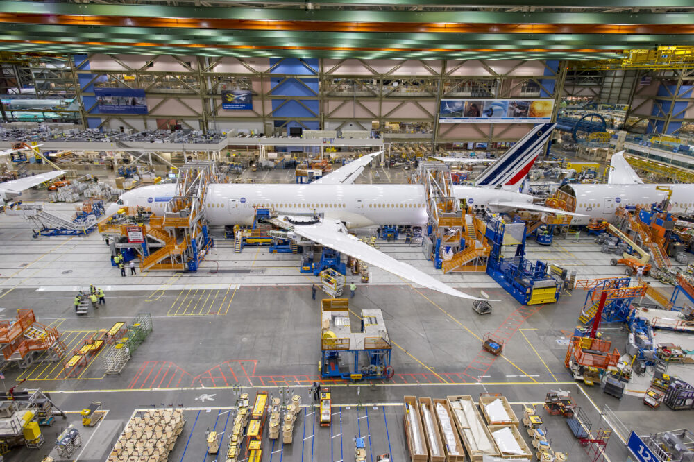 Air France Boeing 787 Being Built