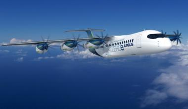 Airbus pod hydrogen propulsion system aircraft