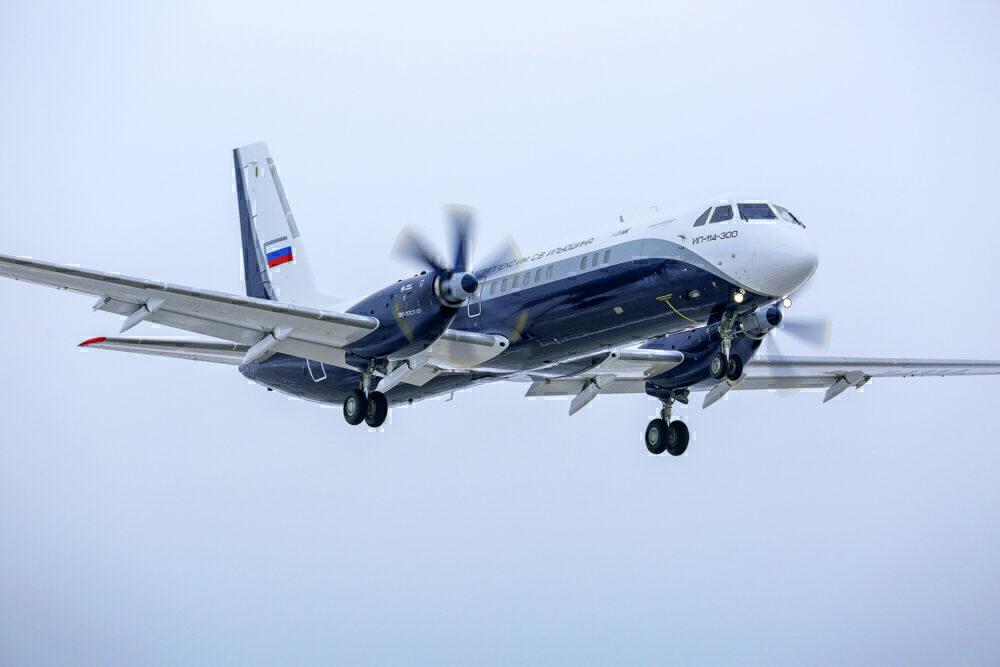 Aircraft IL-114-300