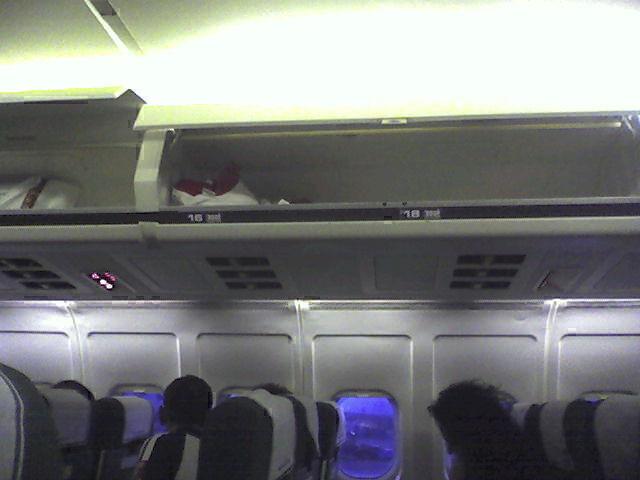 Alitalia row 17