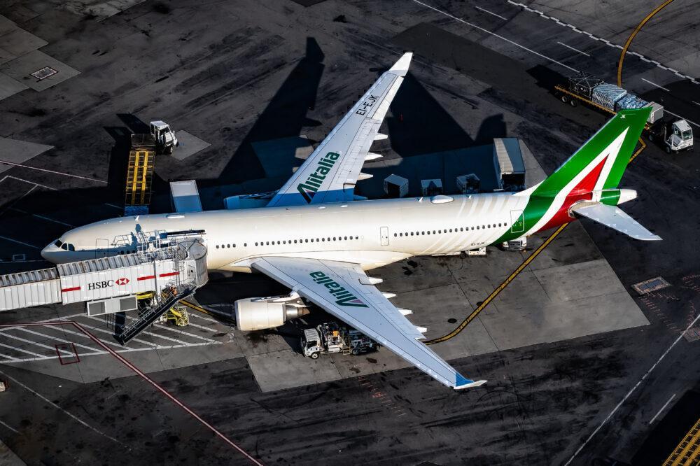Alitalia Airbus