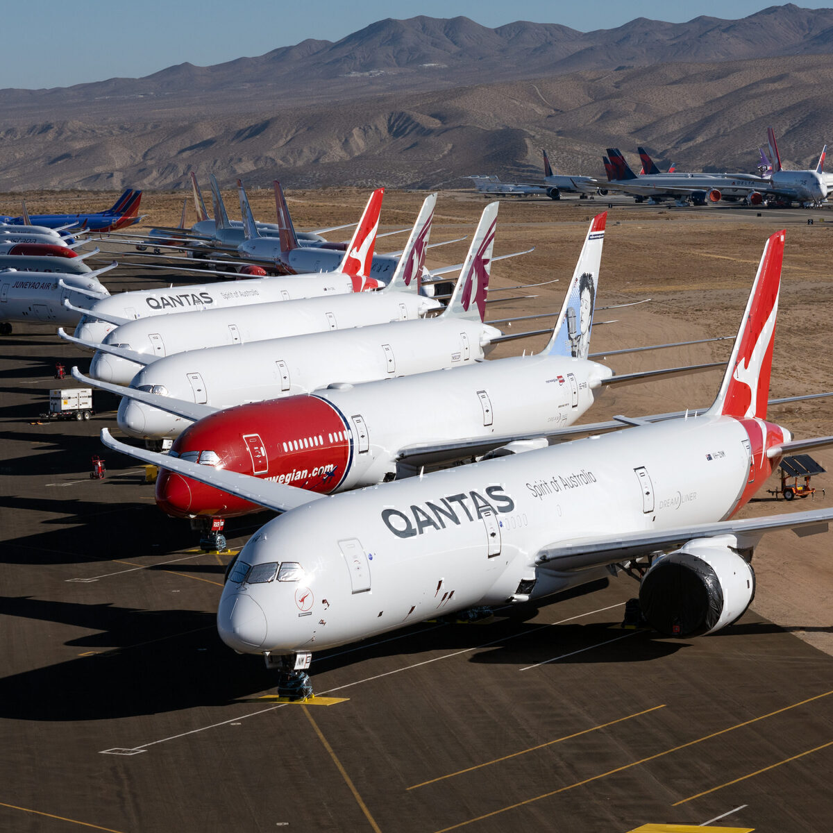 Qantas, Frankfurt, Non-Stop