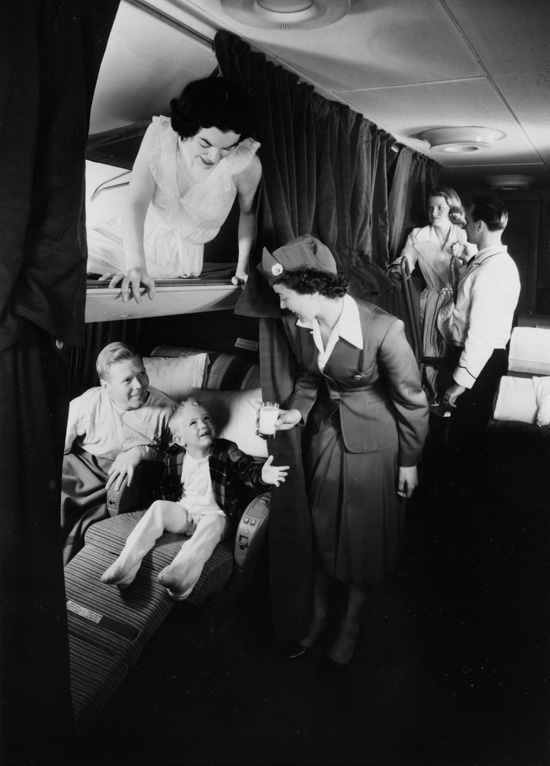 Stratocruiser seats and beds