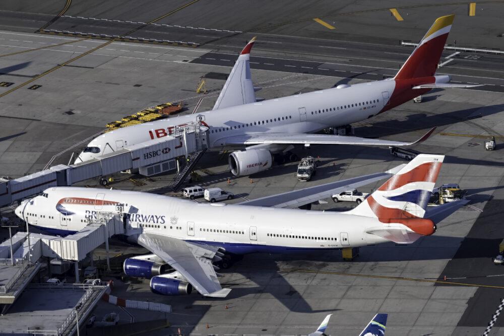 British Airways Boeing 747-436 G-CIVW