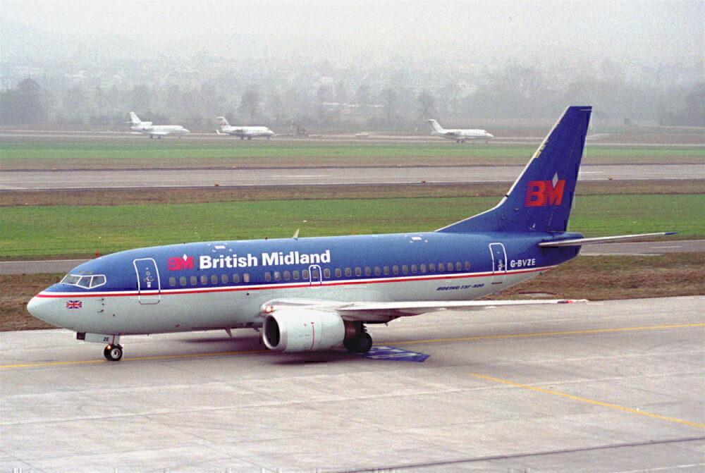 British Midland 737