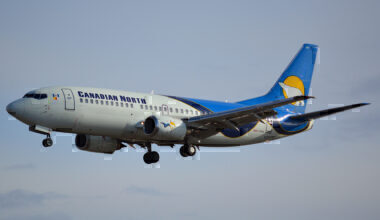 Canadian NOrth Boeing 737