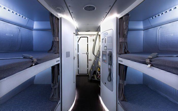 Crew rest Qantas A380