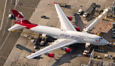 Virgin Atlantic 747-400