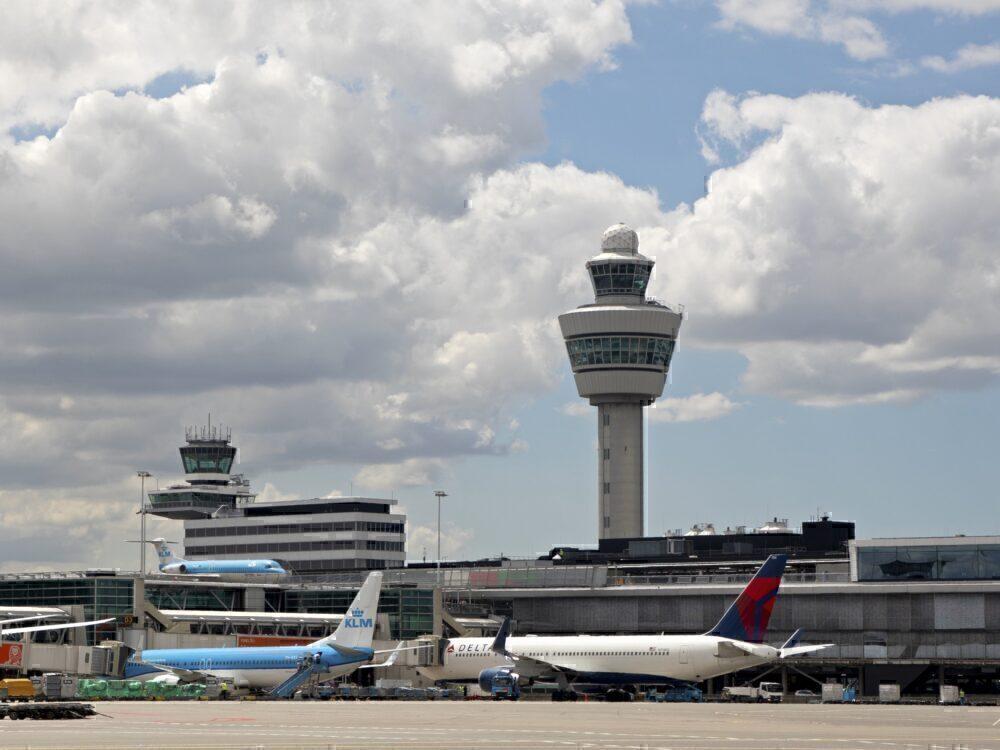 Delta-KLM-Schiphol