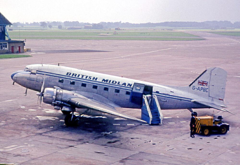 British Midland Airways Douglas C-47