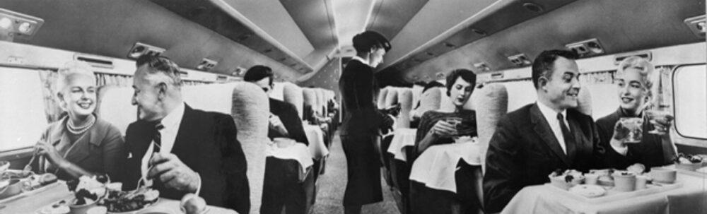 Delta DC-7 Interior